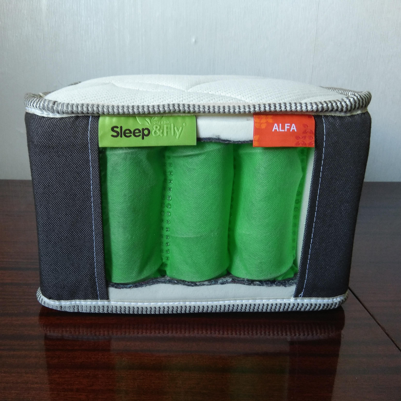 Фото пружинного блока матраса Sleep&Fly Organic Alfa